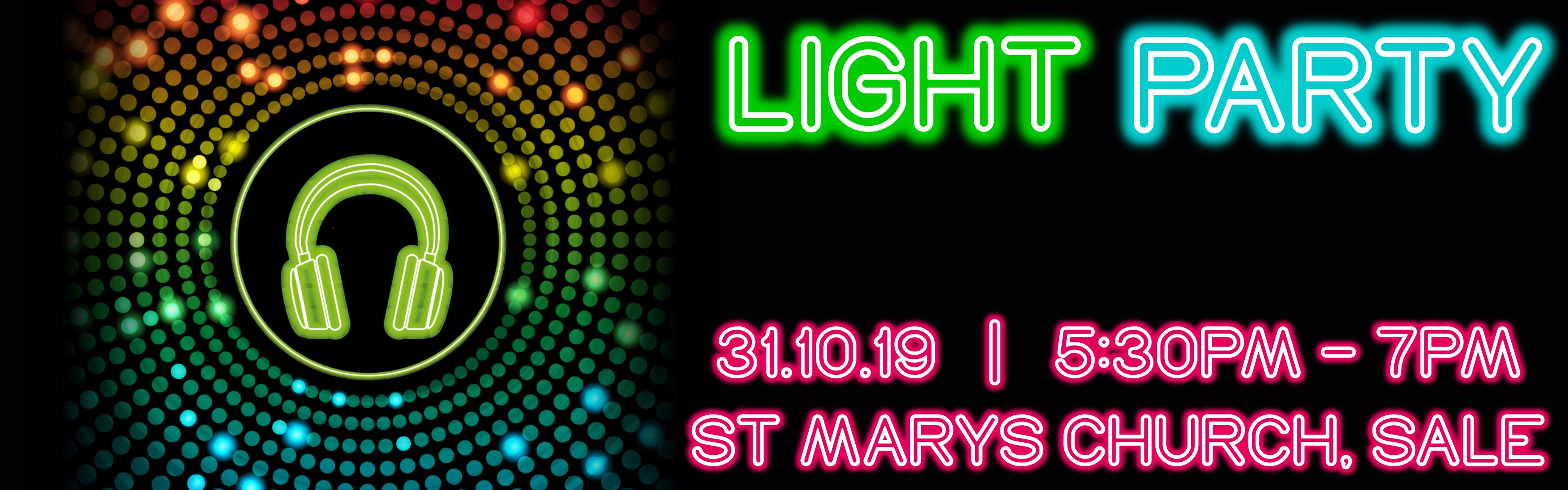 2019 Light Party Web Banner